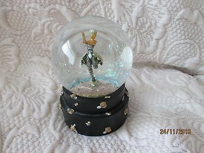 """Musical Water Globe """"The Rose Dancer 1988""""From Past Times"""