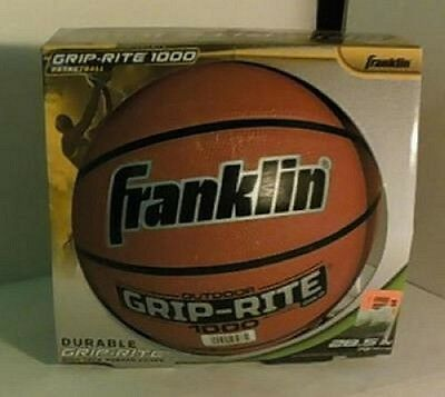 Franklin Sports Grip Rite B6 1000 Intermediate Basketball 28.5 Ins Brown