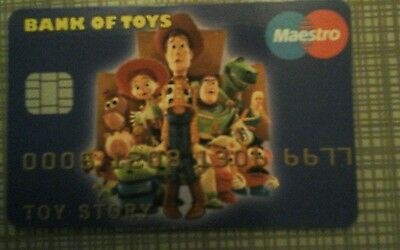 Toy Story novelty credit card/credit cruncher
