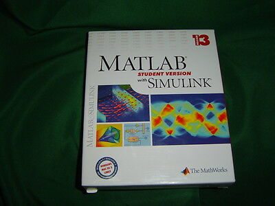 MATLAB and SIMULINK Student Version Release 13.  NEXT DAY SHIPPING.
