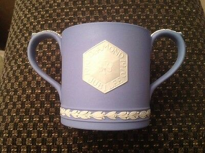 Wedgwood Jasperware Girl Guides Association 1970 Diamond Jubilee Loving Cup(832)