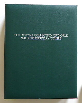 1976 WWF World Wildlife FDC Cover Collection Album 144 Covers + COA