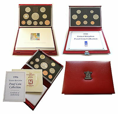 1983 to 2012 UK Deluxe Proof Coin Set Royal Mint  * Multi Listing *