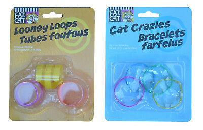 Petmate Looney Loops And Petmate Cat Crazies - Durable & Colourful Toys For Cats