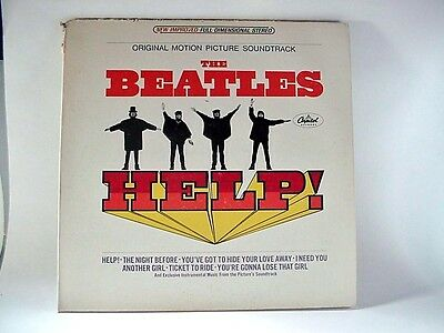 THE BEATLES / HELP,  #SMAS 2386 - Gate-Fold LP Record - 1971