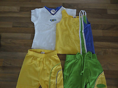 Excellent Condition Girls Sporty Shorts And T-Shirts Set From Next Age 2 Years