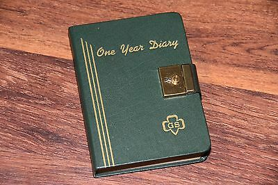 vintage used & locked Girl Scouts Year One 1 Diary