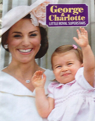 Prince George And Princess Charlotte Full Colour 24 Page Booklet For Royalists
