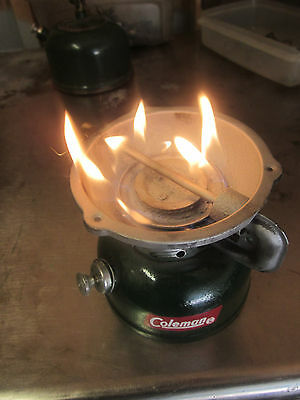 Coleman Gas Camp Stove Model 502. It Is Clean And Runs Super.