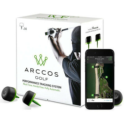 NEW Arccos Golf Real-Time GPS and Golf Stat Tracking System Callaway for iPhone