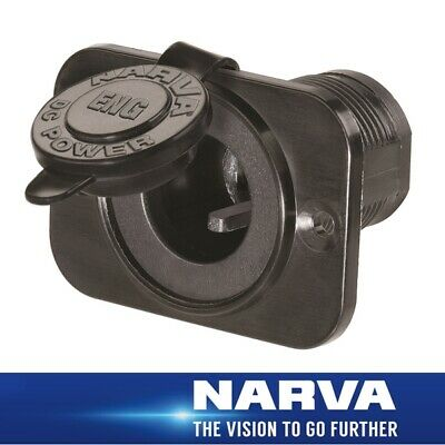 Narva HDRV Power Heavy-Duty engel type Socket Flush Mount 81132BL