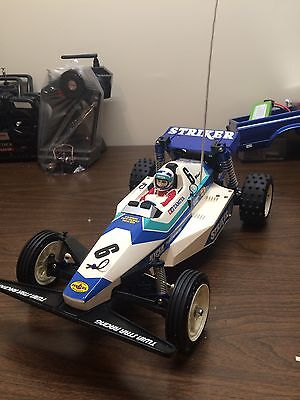 RARE!! Tamiya 1/10 Striker RTR Display Only Never Out Side. LOOK!!!!