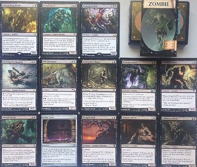 Instant ZOMBIE DECK! Ready To Play 60 Cards Mtg Black