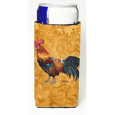 Carolines Treasures Rooster Michelob Ultra bottle sleeves For Slim Cans 12 oz.