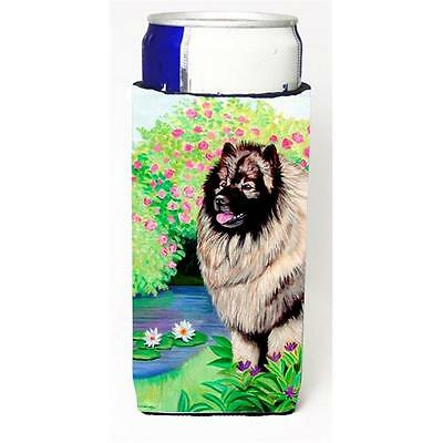 Carolines Treasures Keeshond Michelob Ultra bottle sleeves for slim cans 12 oz.