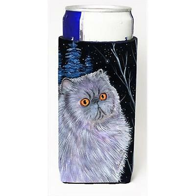Starry Night Cat Persian Michelob Ultra bottle sleeves For Slim Cans