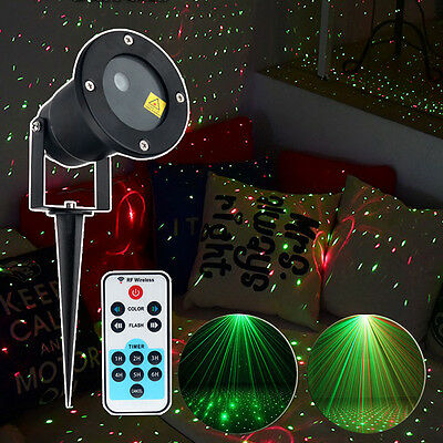 Outdoor Garden Christmas Moving Laser Projector LED Light Stage Light Controller