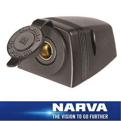 Narva HDRV Power Heavy-Duty 12/24V Merit Socket Surface Mount 81150BL