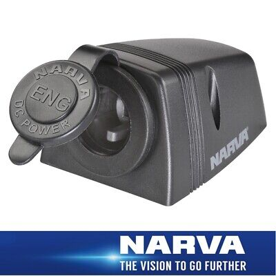 Narva HDRV Power Heavy-Duty 12/24V Engel Socket Surface Mount 81152BL