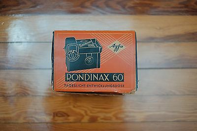 Agfa Rondinax 60 35mm Daylight developing Tank New Old Stock!