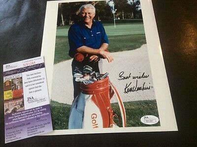 Ken Venturi Golf Autograph Photo US Open JSA Certification