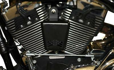 Custom Dynamics Black Mini Beast V Air Horn for Harley Touring Softail MBAH5-B
