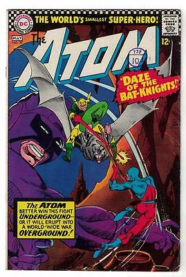 DC Comic ATOM Silver age  #30 VG+ superman 1967