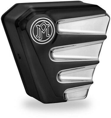 Performance Machine Scallop Horn Cover (Platinum) Harley Davidson Big Twin