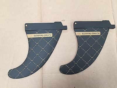 Flying Objects Twin fins  155  US Box  (pair)  INC Plates & Bolts