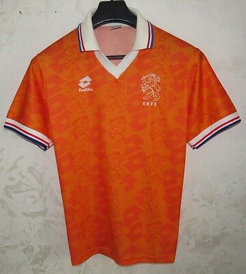 Maglia Shirt Jersey Calcio Football Soccer Futebol Olanda Holland Size S Cup Old