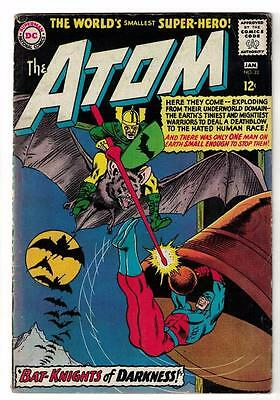 DC Comic ATOM Silver age  #22 VGF  superman 1966 bat knights darkness