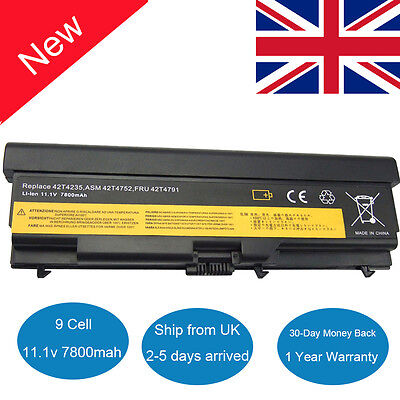 9 Cell Laptop Battery For Lenovo ThinkPad T410 T420 T510 T520 W510 W520 SL410