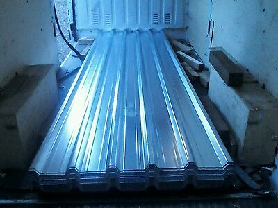 Roofing sheets, brand new,box profile,galvanised steel,heavy duty, 14ft lengths,