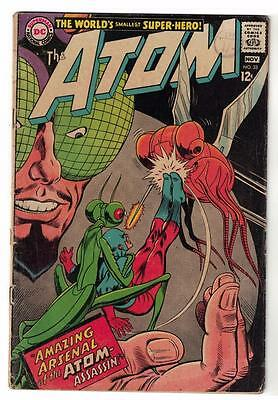 DC Comic ATOM Silver age  #33 G/VG- superman 1967