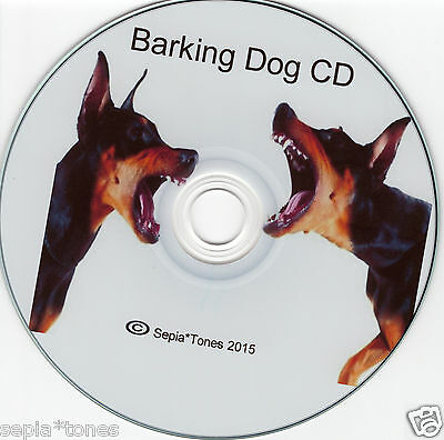 Barking Growling Dog Home Security Cd Safety Original Now Poorly Copied