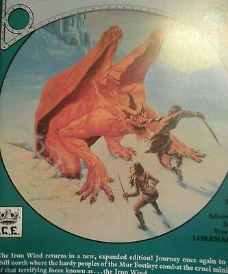ROLEMASTER -  The Iron Wind -Loremaster IRON CROWN RPG OOP