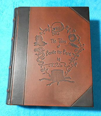 The Tales of Beedle the Bard Collector's Edition J.K. Rowling Harry Potter RAR