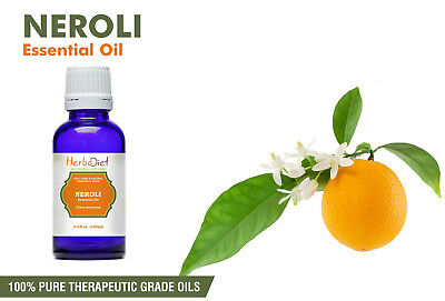 Neroli Essential Oil 100% Pure Natural Undilluted Uncut Therapeutic Grade Oils