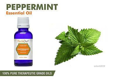 Peppermint Essential Oil 100% Pure Natural PREMIUM Therapeutic Grade Oils