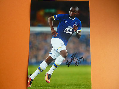 Everton Enner Valencia hand signed photo 12x8