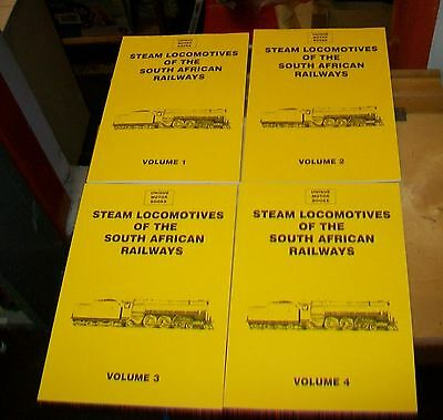 Steam Locomotives Of The South African Railways . Holland. Umb Press. Reprint