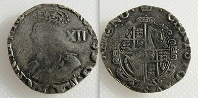 Collectable Silver 1625-49 King Charles I Hammered Shilling
