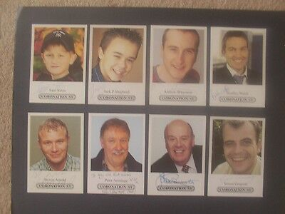 29 Coronation Street Cast Cards  19 Undedicated