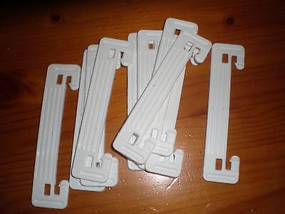 Ladder line spacers (?) for open wire feedline 20 off