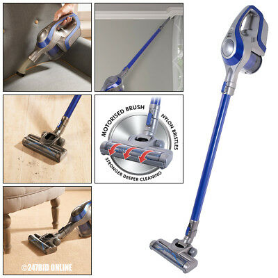 Cordless Rechargeable 2-In-1 Upright & Handheld Cyclonic Bagless Vacuum Cleaner