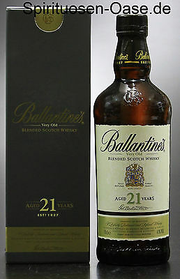 0,7l Ballantines 21 years Very Old blended Scotch Whisky Aged 21 Jahre