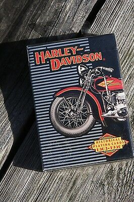 New Sealed Harley Davidson Card Deck 1997 Playing Cards