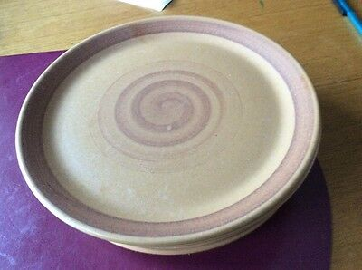 Purbeck Pottery.   Toast Range. Side Plates