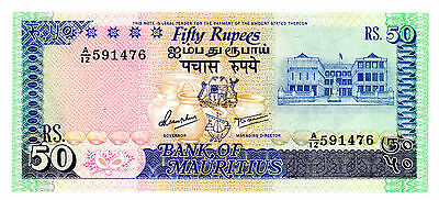 Mauritius ... P-37a … 50 Rupees … ND(1986) … *UNC*