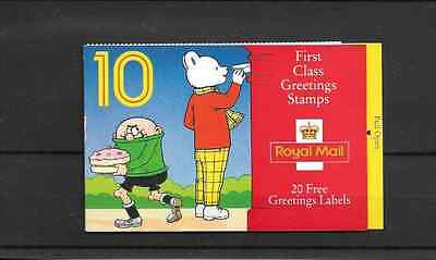 GB 1993 Greetings Stamps Barcode Booklet - KX 5
